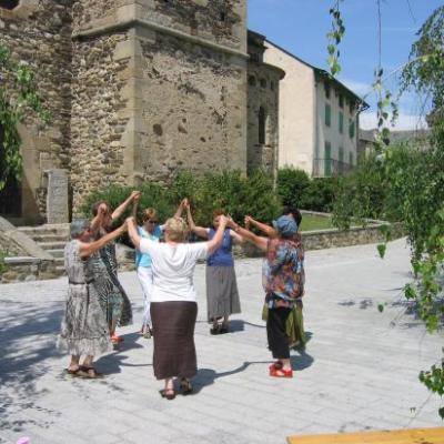 Sardane sur la place de l'Eglise
